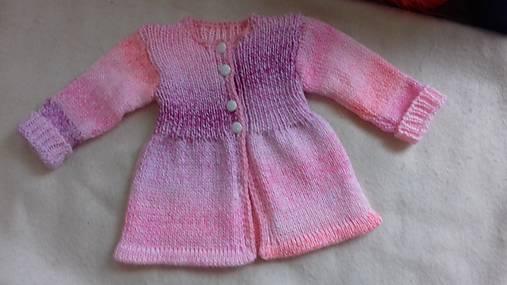 883c2fbe3 Pletený svetrík / danka01 - SAShE.sk - Handmade Detské oblečenie