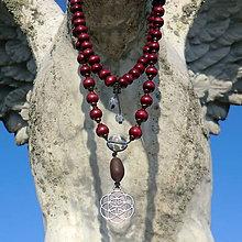 Náhrdelníky - JAPA Mala * Tibet * Meditační náhrdelník - 9918744_