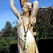 Náhrdelníky - JAPA Mala * Dřevěný náhrdelník * barvy Přírody - 9921125_