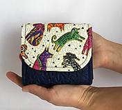 Peňaženky - Quiltovaná priehradková peňaženka - psíčky - 9918772_