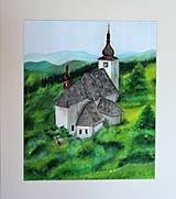 Obrazy - Kostolík - 9919515_