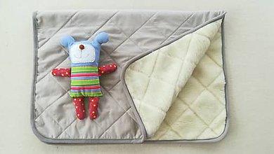Textil - RUNO SHOP Deka 100% ovčie rúno MERINO ELEGANT BEIGE SAND béžová piesková - 9918281_