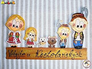 Tabuľky - Menovka - rodinka - 9918102_