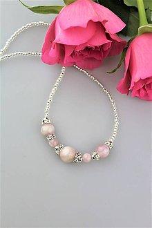 Náhrdelníky - kunzit náhrdelník - 9918658_