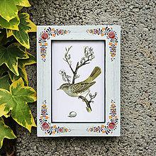 Rámiky - Maľovaný rámček