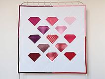 Textil - Detská moderná deka Môj diamant - 9920351_