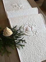 Úžitkový textil - Vianočná štóla  (100 x 30 cm) - 9920047_