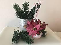 Dekorácie - Vianočná guľa III (bordová) - 9918632_