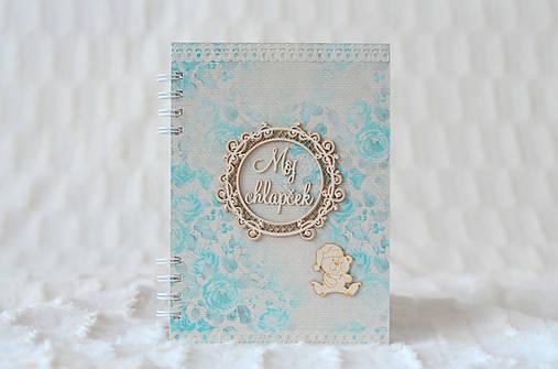 Zápisník pre bábätko / chlapčeka