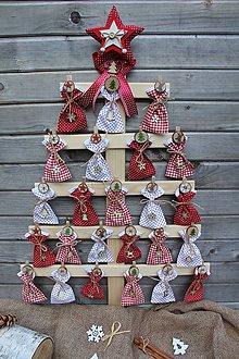 Dekorácie - Adventný kalendár-stromček... - 9920849_