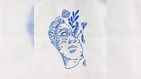 Iné tašky - ♥ Plátená, ručne maľovaná taška ♥ - 9920004_