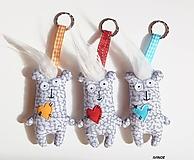 Kľúčenky - Prívesky na kľúče - nezbedníci - 9919428_