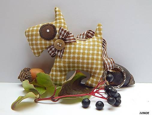 20f416792 Prívesok na kľúče - psík / ivinoe - SAShE.sk - Handmade Kľúčenky