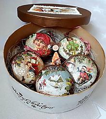 Dekorácie - Luxusná sada vianočných ozdôb - 9920678_
