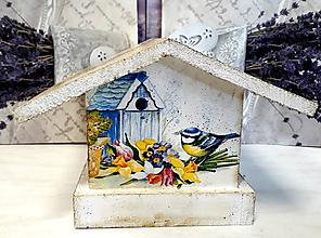 Pre zvieratká - Vtáčia búdka sýkorky - 9920903_