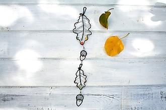 Dekorácie - jesenné lístie* 35 cm - 9919542_