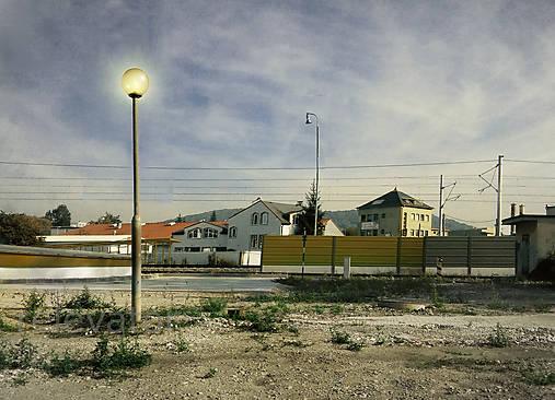 Opustené mestečko