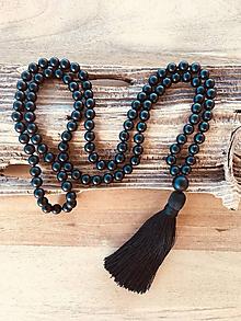 Náhrdelníky - Mala náhrdelník onyx - 9922666_