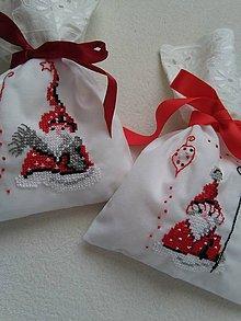 Úžitkový textil - Prídu (vianočné vrecúška) - 9924201_