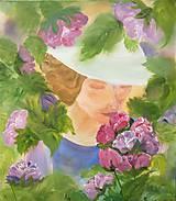Obrazy - Vôňa ženy - 9924574_