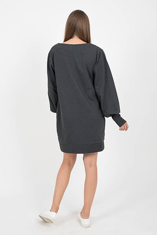a882f6055eb8 MIESTNE TEPLÁKOVÉ ŠATY (jednofarebné)   LOCO - SAShE.sk - Handmade Šaty