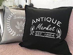 "Úžitkový textil - Vankúšik  ""antique market"" - 9922417_"