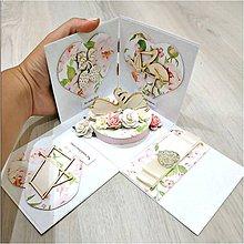 Papiernictvo - Krabička na peniaze - 9923697_