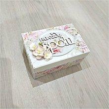 Krabičky - Krabička na prstienky - 9923746_