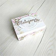 Krabičky - Krabička na prstienky - 9923769_