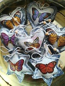 Dekorácie - Motýliky 2 - 9924102_