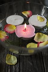 Svietidlá a sviečky - Plávajúce sviečky SADA 2 kusov - 9922443_