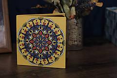 Leporelo 13x13 ,,Mandala,,