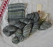 Materiál ručne robený - Polwarth, ručne farbený, 80g - 9923738_