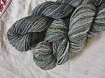 Materiál ručne robený - Polwarth, ručne farbený, 80g - 9923740_