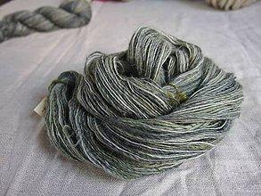 Materiál ručne robený - Polwarth, ručne farbený, 105g - 9923806_