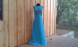 Šaty - Šatovka z fleecu na míru i jiné barvy - 9924202_