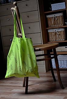 Nákupné tašky - Taška - rastlinky - 9922844_