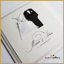Papiernictvo - Svadobné oznámenie otvárateľné ~Wedding~ - 9924450_