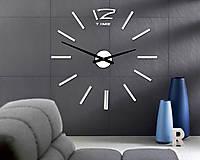 Hodiny - Nástenné hodiny veľké nalepovacie PlexiSKLO 12P003 - 9923076_