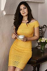 Šaty - Hačkované Šaty Jane - 9922280_