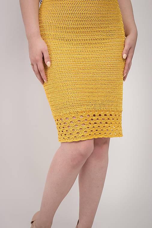 bc742f8a6fca Hačkované Šaty Jane   lazoet - SAShE.sk - Handmade Šaty