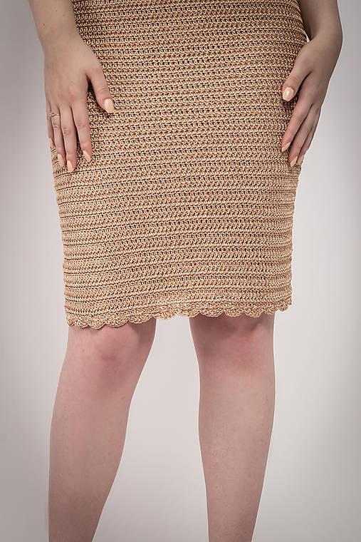480a47ebdc7c Hačkované Šaty Victoria   lazoet - SAShE.sk - Handmade Šaty