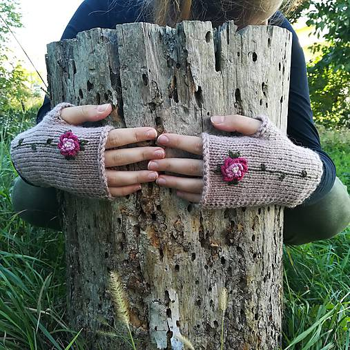 rukavičky staroružové