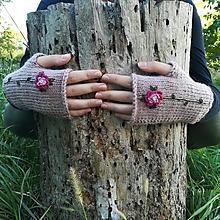 Rukavice - rukavičky staroružové - 9925211_