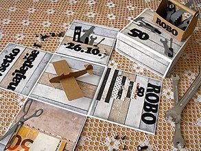 Iné - Exploding box pre pánov - 9923887_