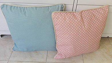 Úžitkový textil - Vankúše s ozdobným lemom 50x50cm - 9923230_