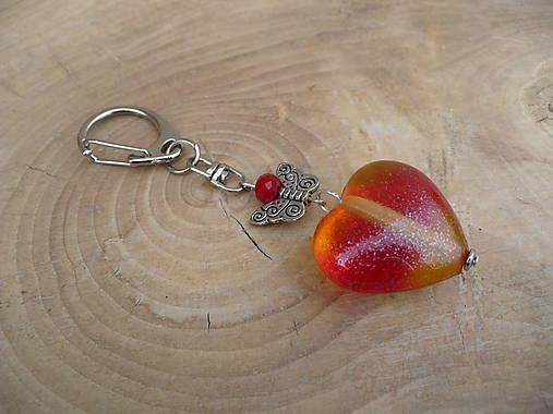 Kľúčenka srdce   24nika - SAShE.sk - Handmade Kľúčenky acf9b622f25