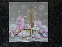 Papier - ružové ozdoby - 9922209_
