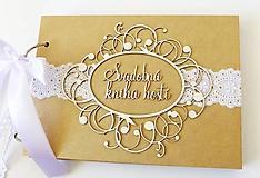 Papiernictvo - svadobná kniha hostí - 9926728_