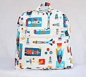 Detské tašky - Detský ruksak rakety  - 9928389_